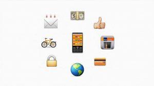 Comunicação do Banco Itaú com uso de emojis